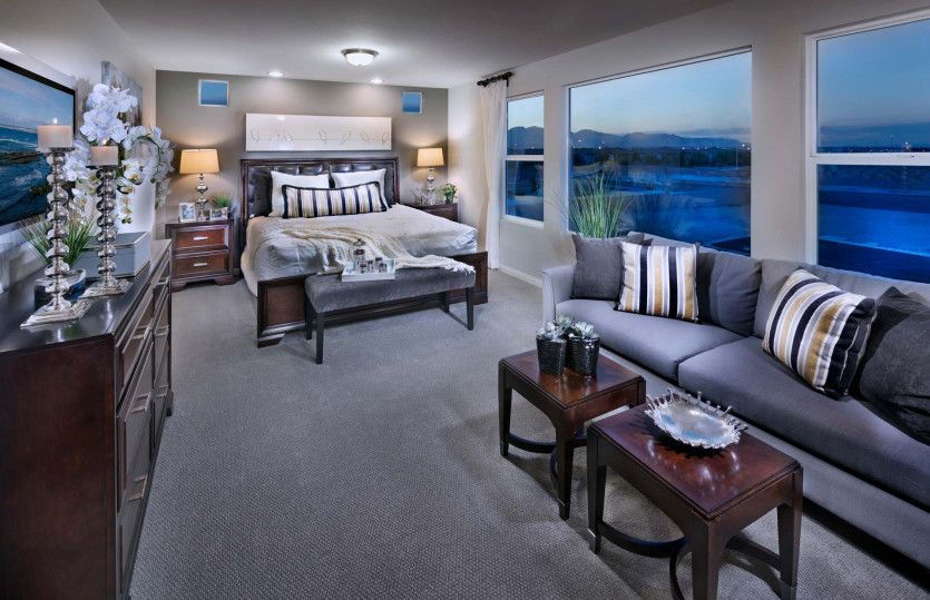 Bedroom featured in the Plan 2958 By AmericanWest Homes in Las Vegas, NV