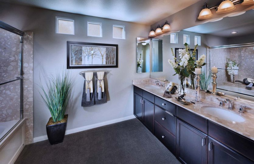 Bathroom featured in the Plan 2958 By AmericanWest Homes in Las Vegas, NV