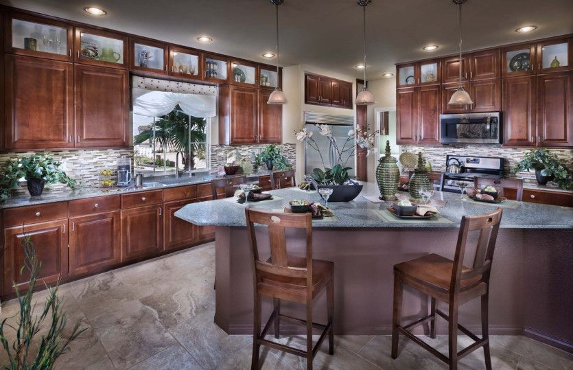 Kitchen featured in the Plan 3026 By AmericanWest Homes in Las Vegas, NV