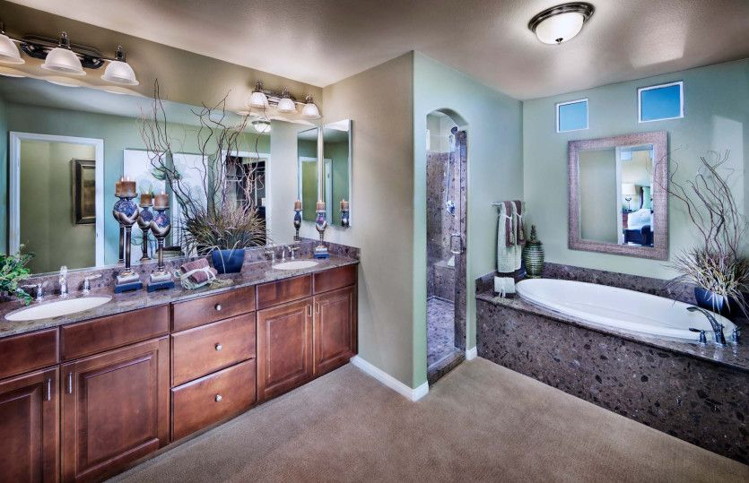 Bathroom featured in the Plan 3026 By AmericanWest Homes in Las Vegas, NV