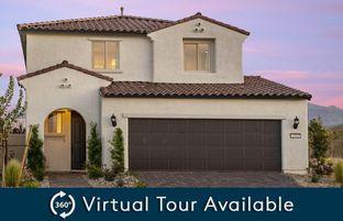 Saffron - Aldervista at North Ranch: North Las Vegas, Nevada - AmericanWest Homes