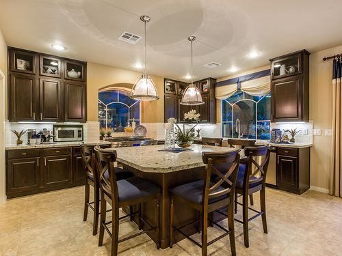 Kitchen-in-The Donovan-at-American West Fox Hill Estates-in-Las Vegas