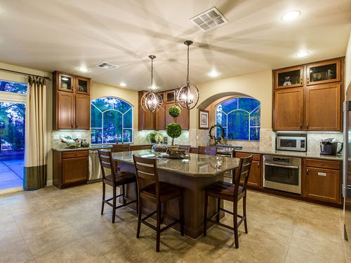Kitchen-in-The Hannah-at-American West Fox Hill Estates-in-Las Vegas