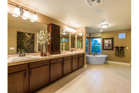 Bathroom-in-The Hannah-at-American West Fox Hill Estates-in-Las Vegas