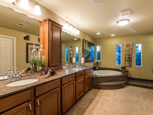 Bathroom-in-The Landon-at-American West Fox Hill Estates-in-Las Vegas