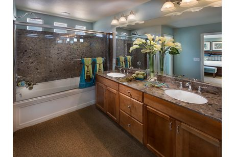 Bathroom-in-Plan 2200-at-American West Jones Crossing-in-Las Vegas