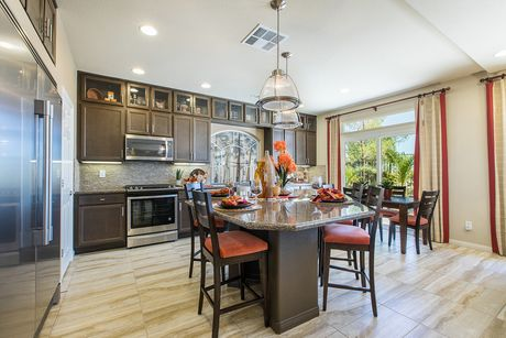 Kitchen-in-The Emerald with BRAG-at-American West Highlands Collection-in-Las Vegas