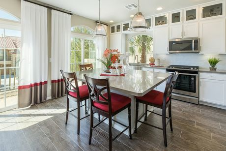 Kitchen-in-The Crystal-at-American West Highlands Collection-in-Las Vegas