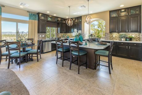 Kitchen-in-The Sapphire-at-American West Highlands Collection-in-Las Vegas