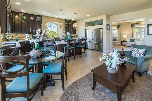 Greatroom-and-Dining-in-The Sapphire-at-American West Highlands Collection-in-Las Vegas