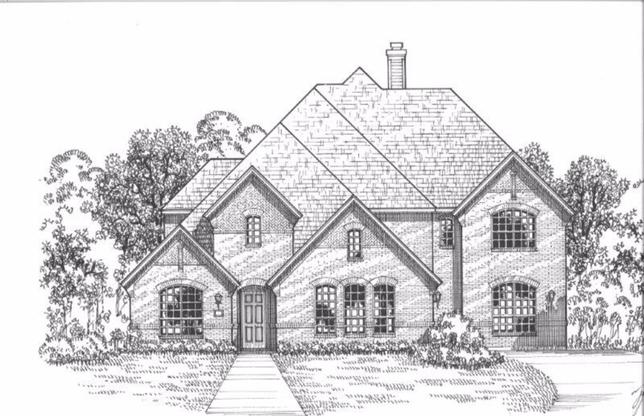 Exterior:Plan 820 Elevation A
