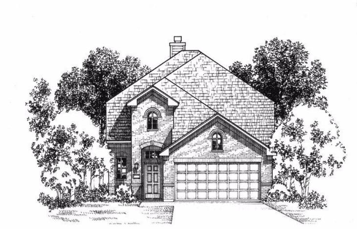 Exterior:Plan 1172 Elevation A