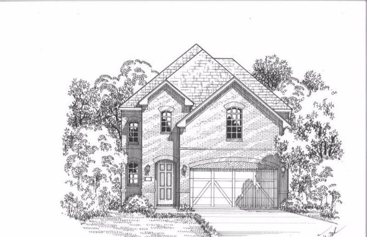 Exterior:Plan 1192 Elevation A