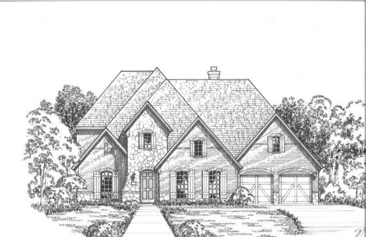 Exterior:2161 Country Brook Elevation C