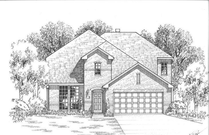 Exterior:Plan 1117 Elevation A