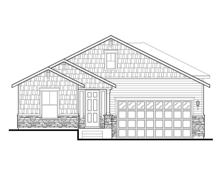 Exterior:Plan C409 Elevation A