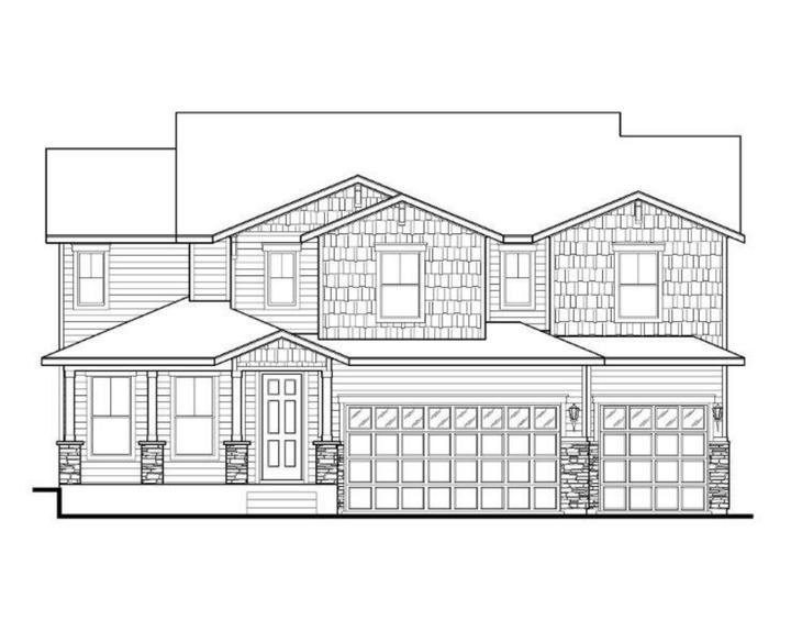 Exterior:Plan C503 Elevation A