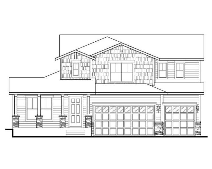 Exterior:Plan C504 Elevation A