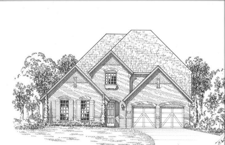 Exterior:1920 Foxglen Elevation A