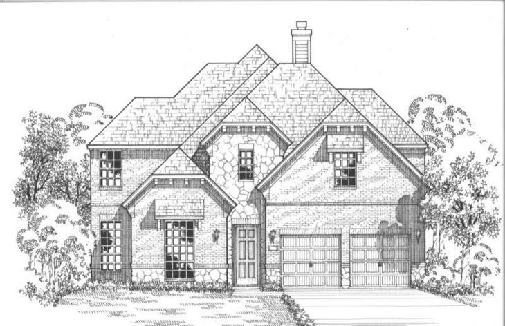 Exterior:3911 Sweet Clover Elevation B