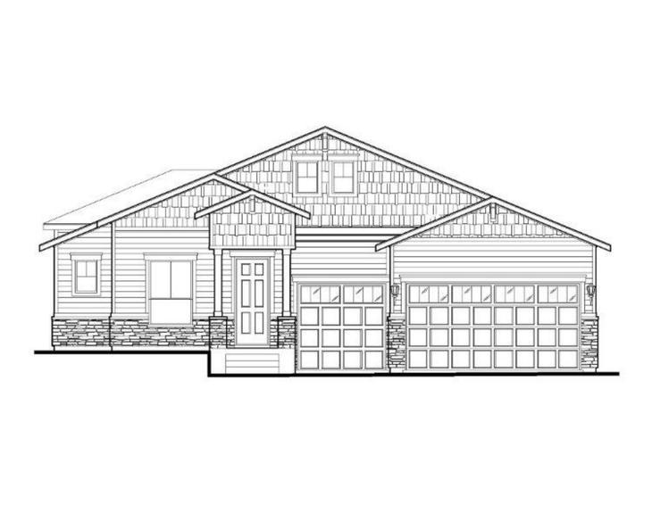 Exterior:Plan C501 Elevation A