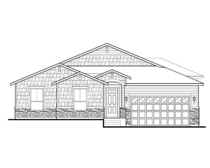 Exterior:Plan C502 Elevation A