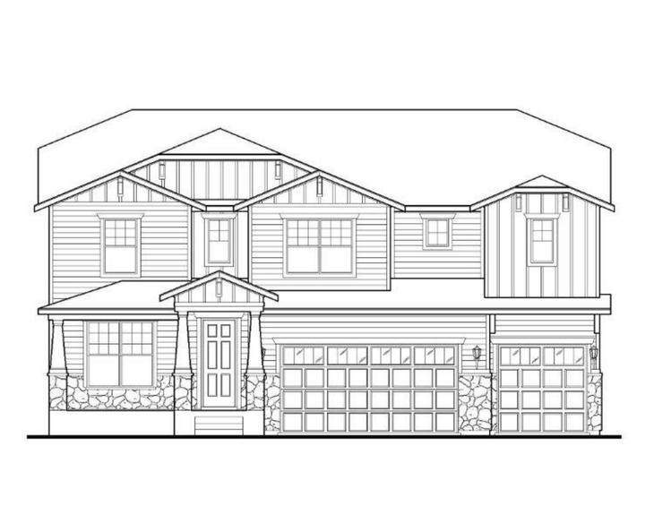 Exterior:Plan C505 Elevation A