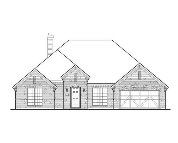 Exterior:Plan 1713 Elevation A