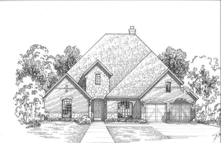 Exterior:810 Country Brook Elevation D
