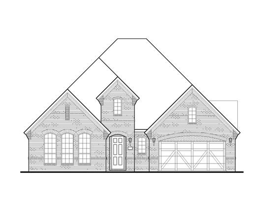 Exterior:Plan 1631 Elevation A
