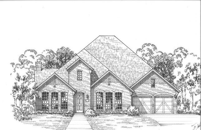 Exterior:3841 Blue Sage Elevation A