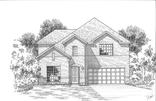 Exterior:Plan 1123 Elevation A