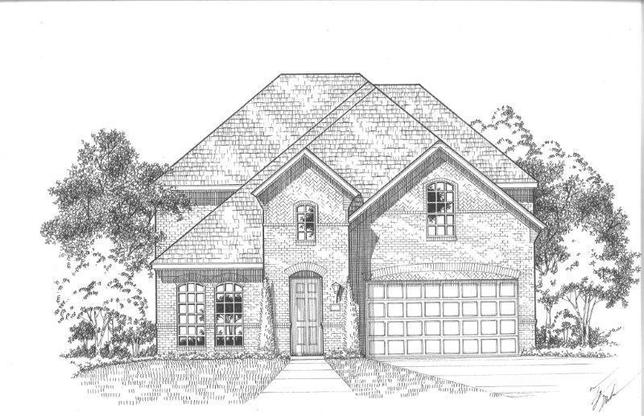 Exterior:Plan 1128 Elevation A