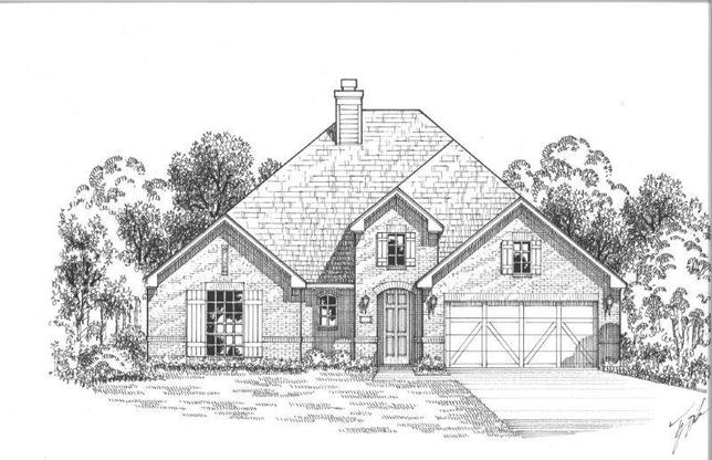 Exterior:Plan 1601 Elevation A