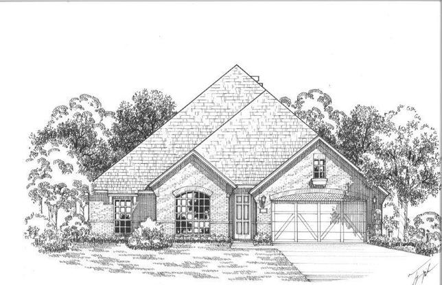 Exterior:Plan 1606 Elevation A