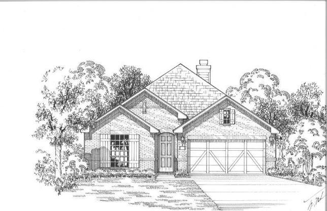 Exterior:Plan 1503 Elevation A