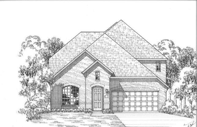 Exterior:Plan 1157 Elevation D