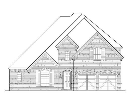Exterior:Plan 1632 Elevation A