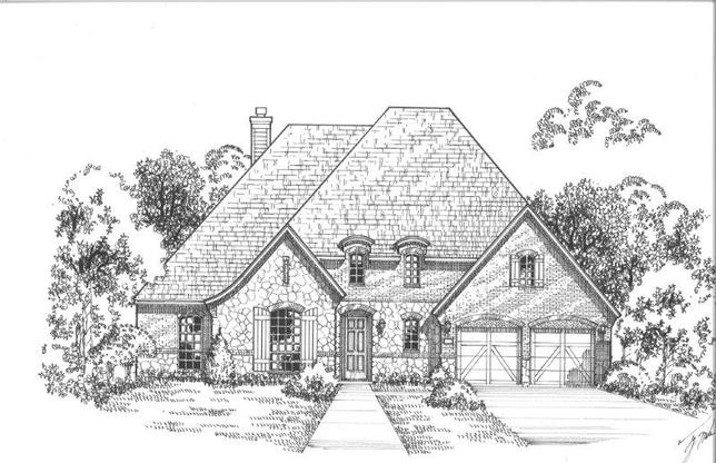 Exterior:751 Country Brook Elevation F