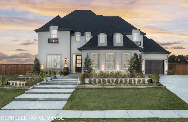 Exterior:Representative Photo of Plan 823 by American Legend Homes