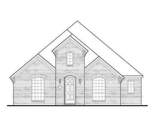 Exterior:Plan 1593 Elevation A