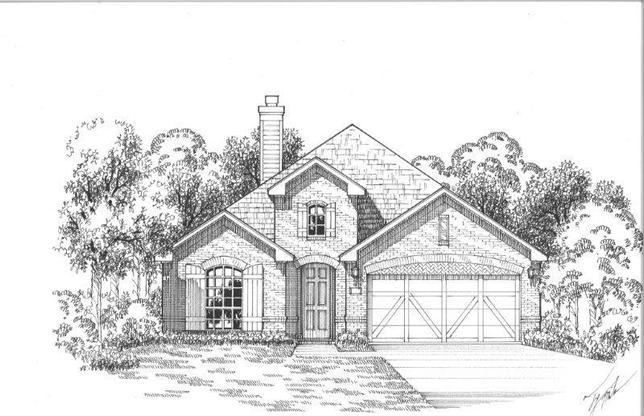Exterior:Plan 1501 Elevation A