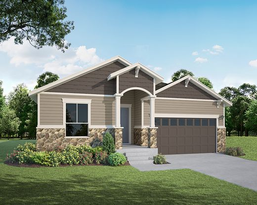 Exterior:2114 Bouquet Elevation A