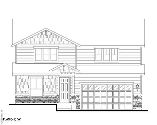 Exterior:Plan C413 Elevation A