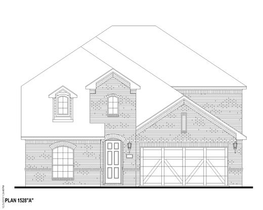 Exterior:Plan 1528 Elevation A