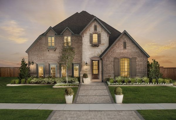 Windsong Ranch 61s Model Plan 1654 Front Elevation by American Legend Homes
