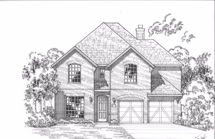 Exterior:Plan 1513 Elevation A