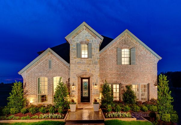 Watters Branch in Craig Ranch Plan 1196 Front Elevation by American Legend Homes