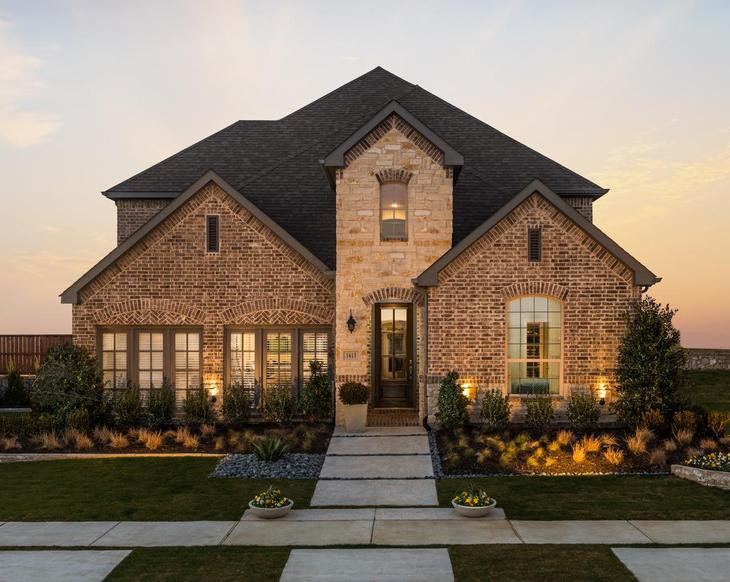 Artesia 50s Model Plan 1509 Front Elevation by American Legend Homes