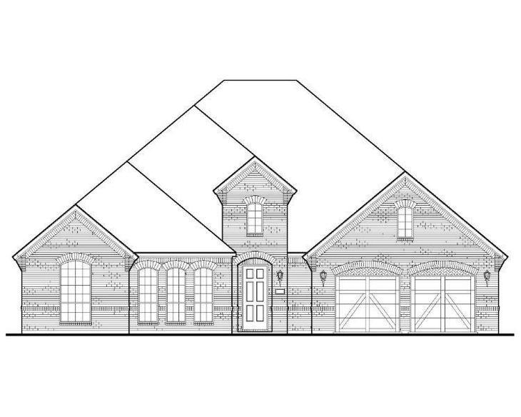 Exterior:Plan 1703 Elevation A